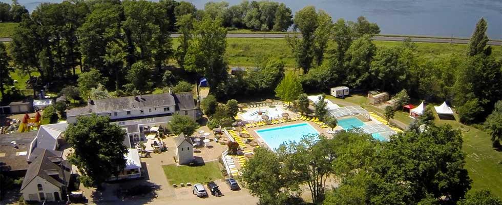 camping 5 étoiles Saumur